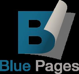 Blue Page logo