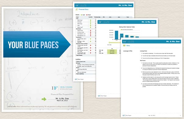 Blue Pages Your Reports